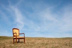 krzesło samotność obrazy royalty free