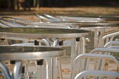 krzesło stół Obraz Stock