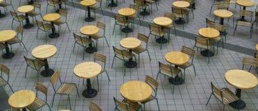 krzesło stół Fotografia Royalty Free