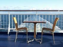 krzesło stół Zdjęcie Royalty Free