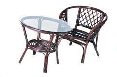 krzesło stół Zdjęcia Royalty Free