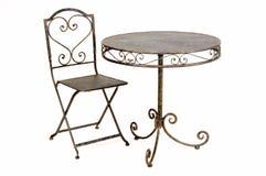 krzesło stół Zdjęcia Stock