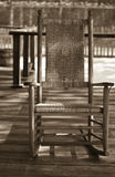 krzesło stary rocka obrazy royalty free