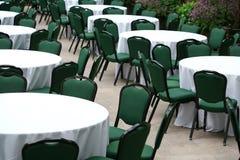 krzesło stoły zdjęcie stock