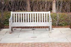 krzesło tęsk drewno Zdjęcia Royalty Free