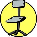 krzesło urzędu ilustracja wektor