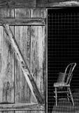 krzesło w środku Zdjęcia Stock