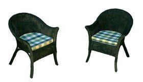 Krzesło zieleń Fotografia Royalty Free