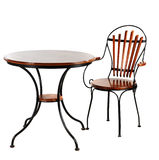 krzesła biurka meble Fotografia Royalty Free