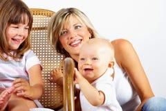 krzesła córki macierzysty target1835_0_ syn Obrazy Stock