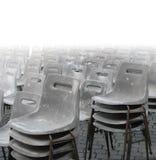 krzesła grey Obrazy Stock
