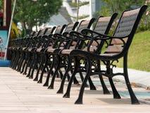 krzesła na kwadracie zdjęcia stock