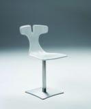 krzesło biel Zdjęcia Stock