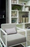 Krzesło bookcase Obrazy Stock