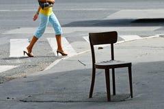 krzesło dama Fotografia Royalty Free