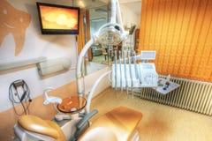 krzesło dentysta s Zdjęcia Royalty Free