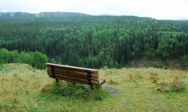krzesło doliny widok Fotografia Stock
