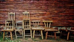 krzesło drewna Obrazy Royalty Free