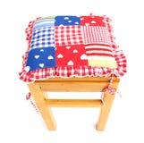 Krzesło drewniany Obrazy Royalty Free