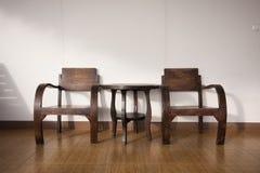 Krzesło drewniany 1 Zdjęcie Stock