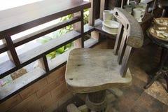 krzesło drewniany Zdjęcie Royalty Free