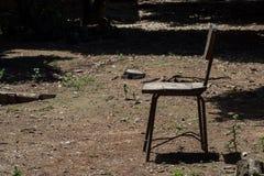 krzesło drewniany Fotografia Stock