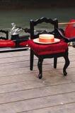 krzesło gondolier Venice Zdjęcie Stock