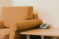 krzesło hotel Zdjęcia Stock