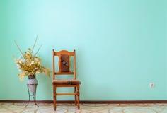 Krzesło minimalizm Zdjęcia Stock