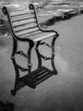 Krzesło na deszczowym dniu Obrazy Royalty Free