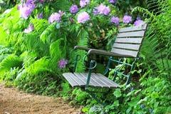 krzesło ogród Obraz Royalty Free