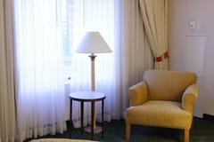 krzesło okno Fotografia Royalty Free