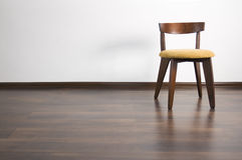 krzesło osamotniony Zdjęcia Royalty Free