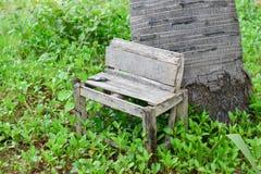 Krzesło park w wakacje Zdjęcie Stock