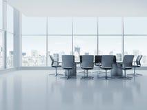 krzesło pokoju konferencji konferencji tabeli Obrazy Royalty Free