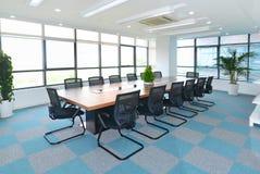 krzesło pokoju konferencji konferencji tabeli Fotografia Royalty Free