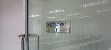 krzesło pokoju konferencji konferencji tabeli Zdjęcia Stock