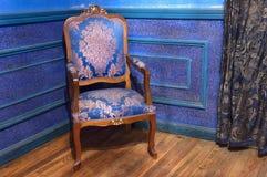 krzesło rocznik Fotografia Royalty Free