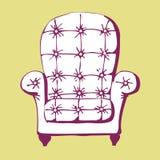 krzesło rocznik Zdjęcia Stock