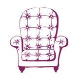 krzesło rocznik Obrazy Royalty Free