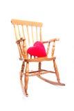 krzesło serca red rock poduszki Obrazy Royalty Free