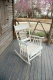 krzesło stary rocka Zdjęcia Stock