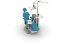 krzesło stomatologiczny Ilustracja Wektor