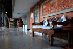 Krzesło w korytarzu Zdjęcia Royalty Free