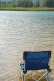 Krzesło w Lago Cavazzo Obrazy Royalty Free