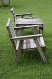 Krzesło w ogródzie. Zdjęcia Stock