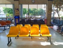 Krzesło w szpitalu Zdjęcia Royalty Free