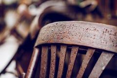 krzesło z raindrops Obrazy Stock