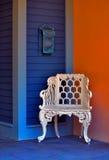 krzesła skrzynka pocztowa rocznik Zdjęcie Royalty Free