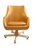 krzesła stary rzemienny Obraz Stock